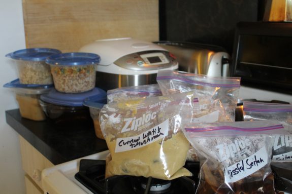 Post image for A typical bulk cooking weekend + Happy Herbivore recipe testing