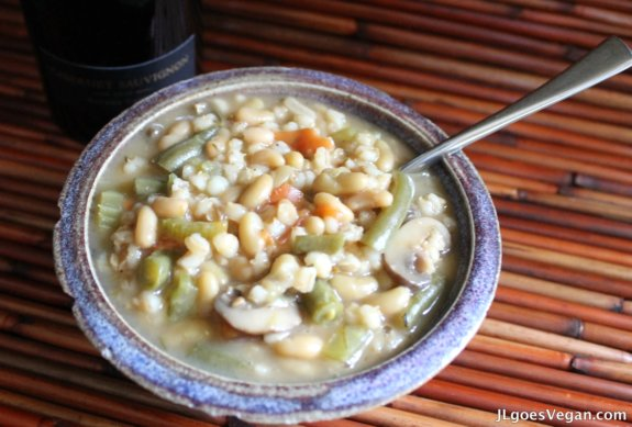Post image for Bean and Barley Vegetable Stew