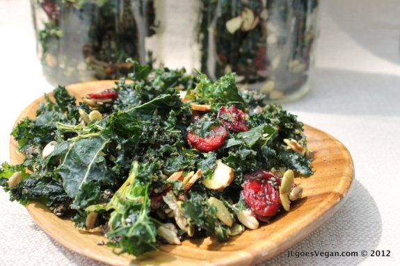 Post image for Kale Granola! {Two vegan recipes}