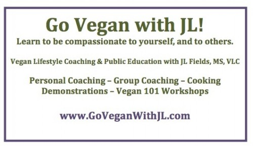 Go Vegan with JL Ad