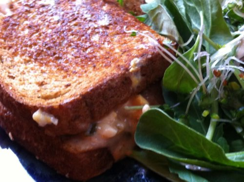 Post image for Vegan Reuben-ish Sandwich