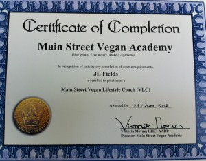 Go Vegan with JL Main Street Vegan Lifestyle Coach