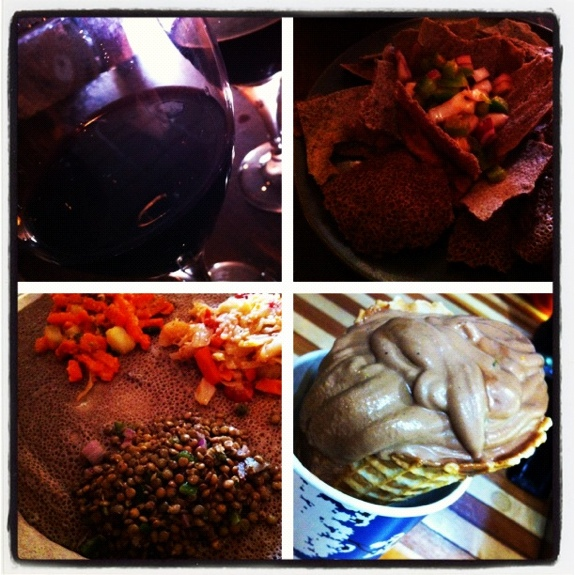 Vacation photo blog 3 vegan travel july 2012 jl goes for Abay ethiopian cuisine pittsburgh