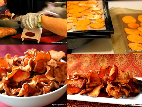 Post image for Marmite Sweet Potato Chips (Baked or High Raw)