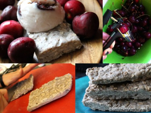Post image for JL's Vegan Cherry-Oat Ice Cream Bars (OXO Cherry Recipe Contest)