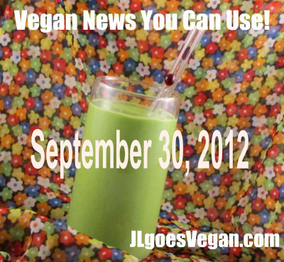 Post image for A cooking demo, a giveaway winner + Vegan News You Can Use (9/30/12)