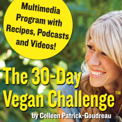Post image for GIVEAWAY! The 30-Day Vegan Challenge with Colleen Patrick-Goudreau {Vegan MoFo #9}