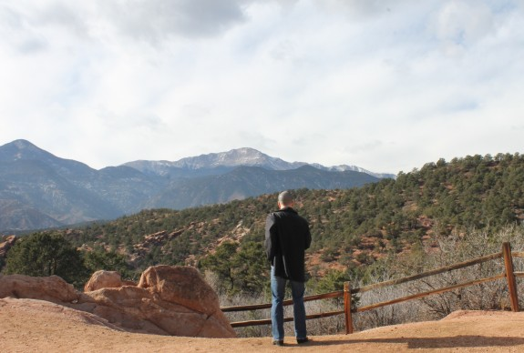 Christmas Eve in the Garden of the Gods