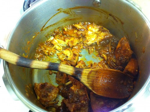 BBQ Pulled Jack Fruit in the Pressure Cooker