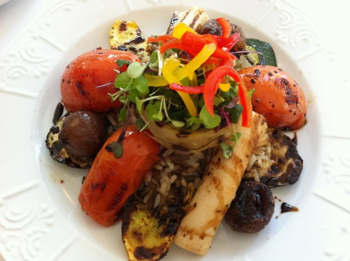 mixed grill at Cliff House