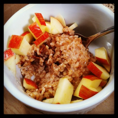 steel-cut oats in the rice cooker