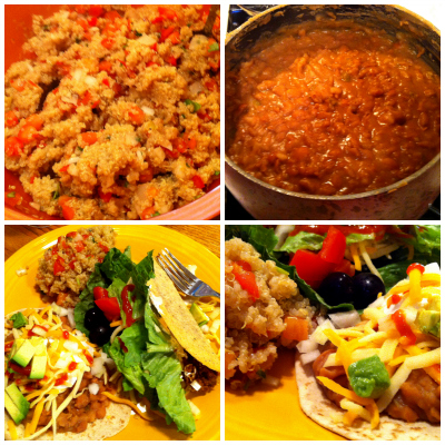 Post image for Introducing my sister to pressure cooking (A Vegan Mexican Feast!)