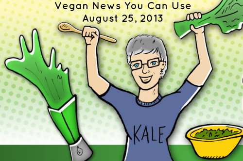 "Post image for VegNews, ""See"" You Tomorrow? + Vegan News You Can Use (8/25/13)"