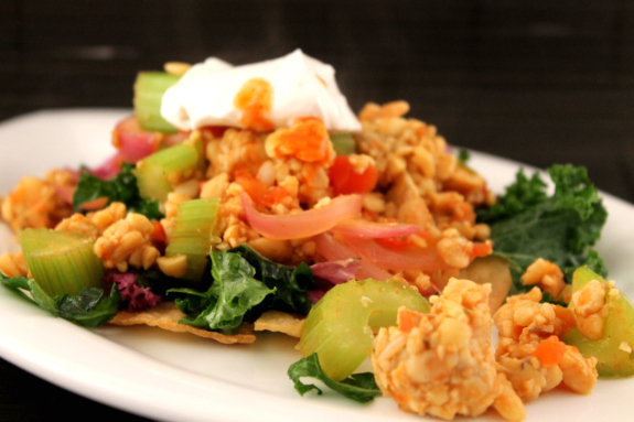 Post image for Tempeh Tostadas
