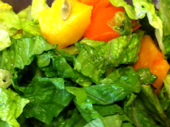 Post image for Butternut Squash Breakfast Salad