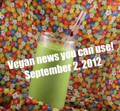 Post image for On the grill: Quinoa-Daiya Vegan Burger and Broccoli + Vegan news you can use (9/2/12)