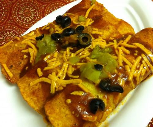 Jackfruit And Sweet Potato Enchiladas Recipe And My