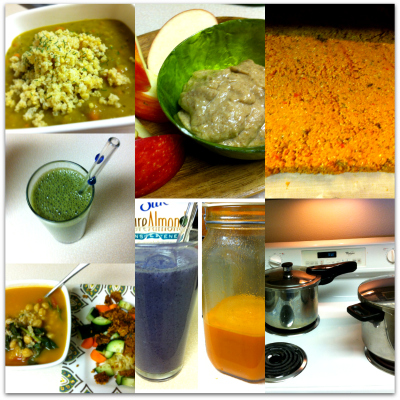 Post image for Yoga, balance and cooking in bulk.