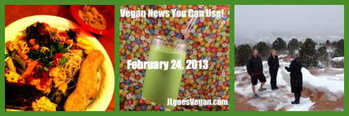 Post image for JL goes Reverend, Donating Veganism, Italian Potluck + Vegan News You Can Use (2/24/13)