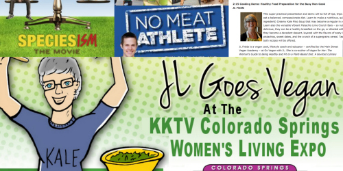 Post image for Vegetarian Awareness Month: Vegan Events in Boston, Colorado Springs, Oakland and Online!