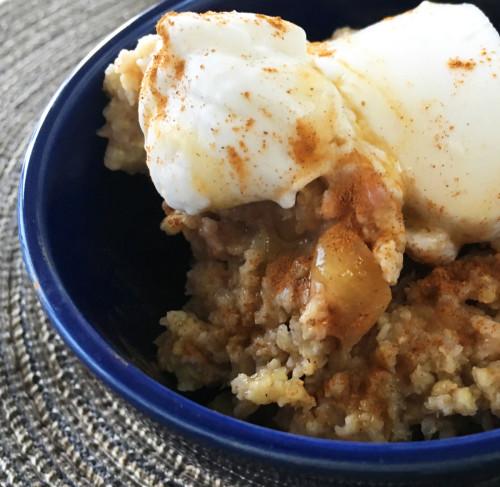 Post image for Apple Millet & Oat Porridge