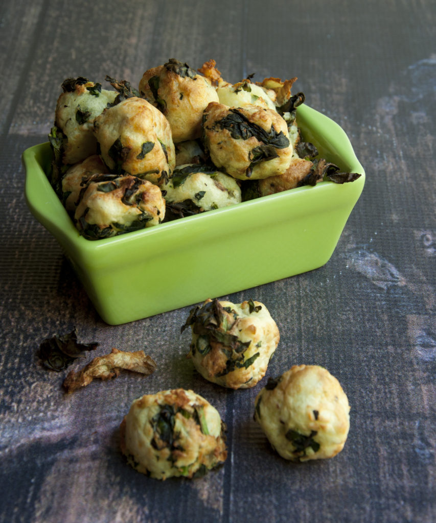 Kale And Potato Nuggets Recipe From The Vegan Air Fryer By